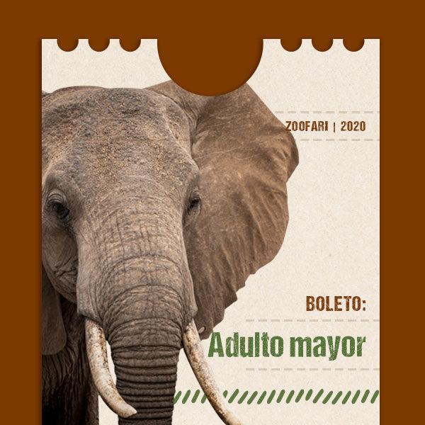 Adulto mayor Zoofari
