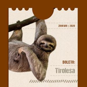 Tirolesa en Zoofari