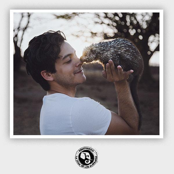 Leonardo Álvarez en Zoofari