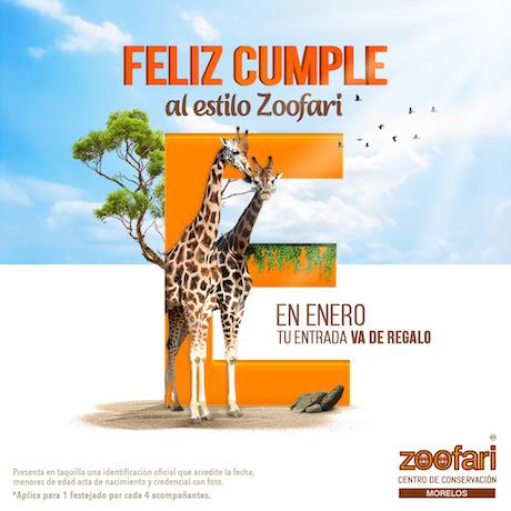 Tu cumpleaños en Zoofari